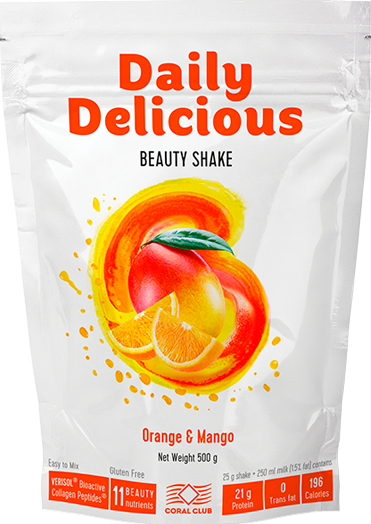 Daily Delicious Beauty Shake, 500 g / 20 portions